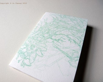 SALE: Screen Printed Fauna Card - Greeting Card - Handmade - Nature - Card for All