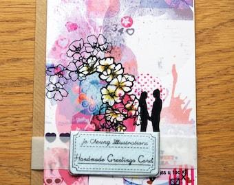 Love Greetings Card