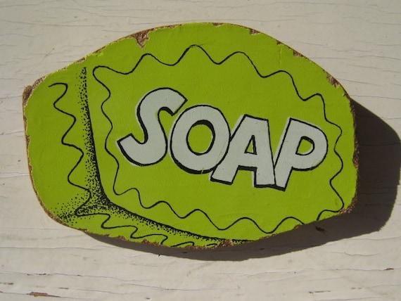 Soap Vintage Playskool Puzzle Pin