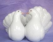 Antique 1971 Lladro Couple of Doves Porcelain Statue