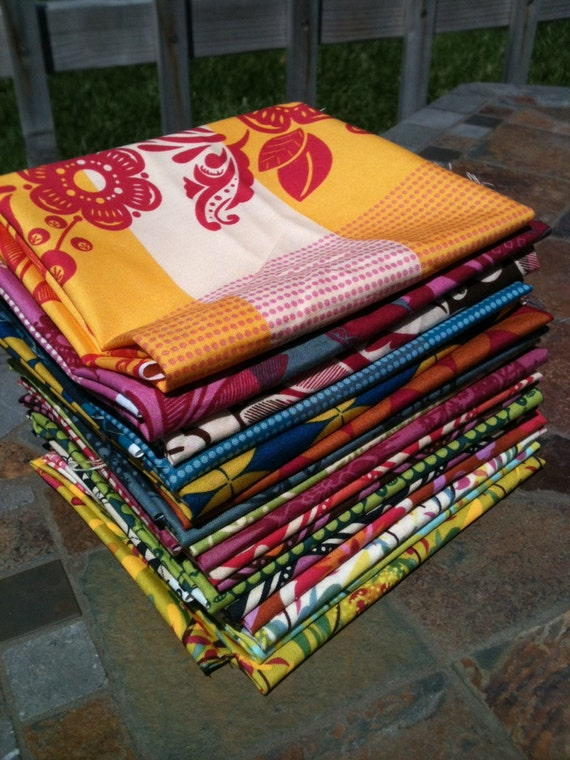 Anna Maria Horner Good Folks collection of 17 Fat Quarters Very Limited HTF AMH