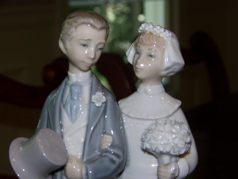 Vintage Lladro Wedding FIgurine