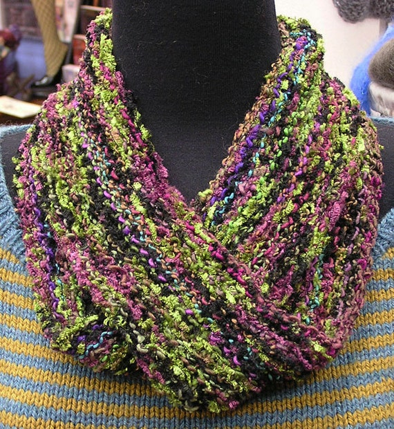 ARIA Moebius and Infinity Scarf or Cowl Patterns