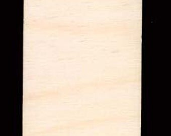 Rectangles Rounded Corners  Artist Trading Card  ATC wood blank Natural Craft Wood Cutout 270