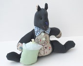 Little Woodland Squirrel 'Morton' - Large Stuffed Animal Plush Toy - Gift Card Holder or Tooth Fairy Pillow