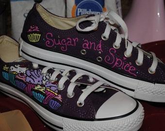 Lea-Cupcake Converse