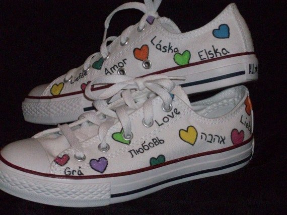 All You Need is Love Converse