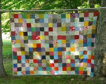 King Size---Classic Americana Patchwork Quilt