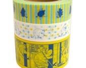 Moomin Masking Tapes - Moomin Series Set of 3