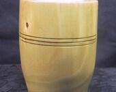 Wood Tea Light Holder Secret Compartment