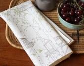 Tree House Tea Towel