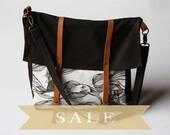 SALE- brown ships messenger bag