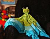 Froggie Blanket Crochet Pattern PDF 572