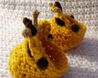Moc Giraffe Sandal Booties Crochet Pattern PDF 286