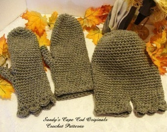 New and Improved  Smittens crochet pattern pdf 221