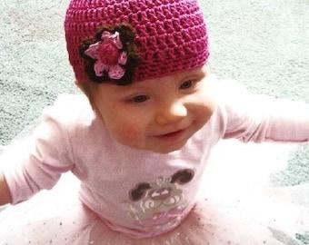 Infant to Adults Beanie Crochet Pattern PDF 442