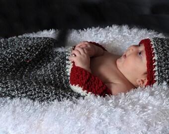 Baby Crochet,Crochet Baby,Crochet Cocoon,Crochet Baby Beanie,Crochet Sock Monkey Inspired Cocoon and Hat Crochet Pattern pdf520