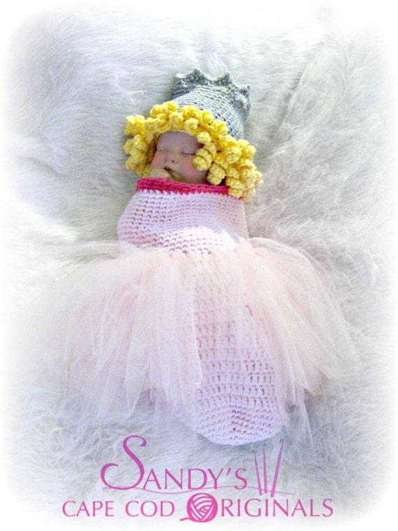 The Good Witch Cocoon and Hat Crochet Pattern PDF 617 Inspired by The Wizard of Oz Book