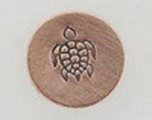 SEA TURTLE Metal Steel Design stamp for Metal Jewelry Stamping The Urban Beader