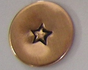 Metal Steel Stamps 3mm STAR Design Stamp Jewelry Stamping - The Urban Beader