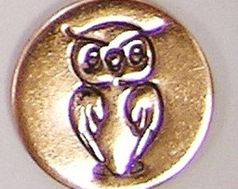 The Urban Beader exclusive 6mm OWL Design/Decorative Stamp for Metal Jewelry Stamping