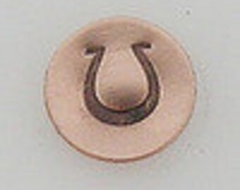 Metal Steel Design Stamps HORSESHOE Decorative Stamp for Metal Jewelry Stamping The Urban Beader