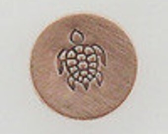 SEA TURTLE Metal Steel Design stamp for Metal Jewelry Stamping The Urban Beader