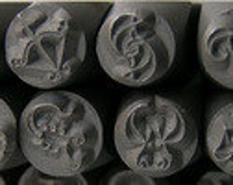 Zodiac Metal Design Stamp Set - Great Quality Set - The Urban Beader Original