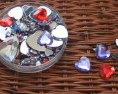 GRANDSALE COLOURFUL FLAT Hearts