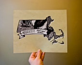 Massachusetts State Bird- Black-capped Chickadee 8 x 10 Print