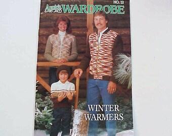SALE - Annie's Wardrobe No. 12, Winter Warmers, Nov. - Dec. 1986, Magazine of Crochet Patterns and More
