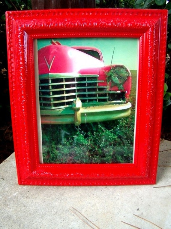 Bright Red Vintage Style Picture Frame 8x10 OTHER by ...