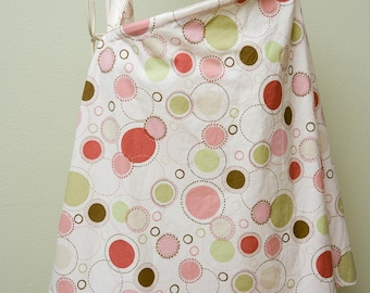 Clearance** Couture Mama Nursing Cover - Mod Mommy Designs - Pink Polkas