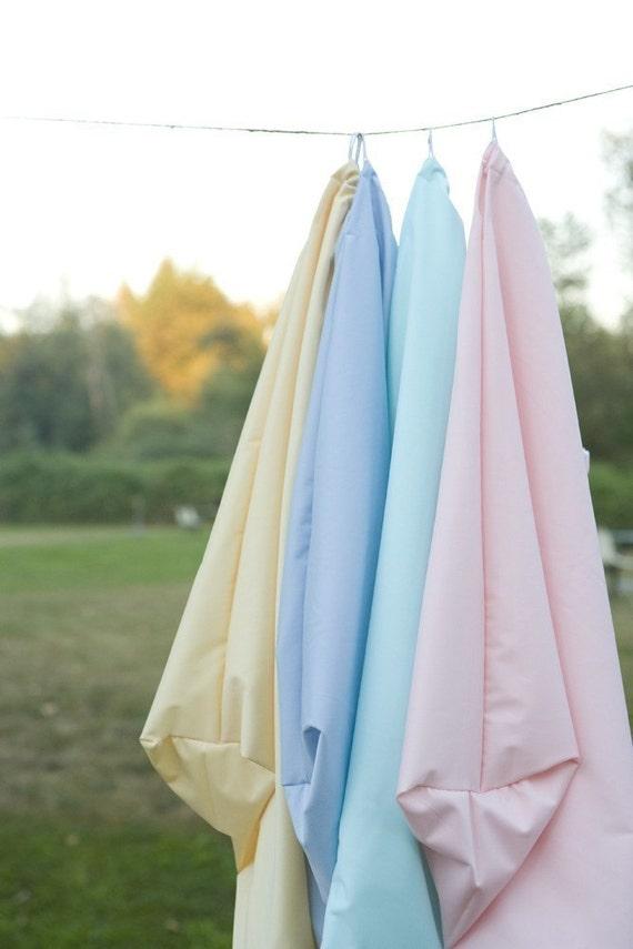 X-LARGE Pail Liner - Wet Bag - Elastic Cording - 20 COLOR Choices - Snap-out Scent Swatch
