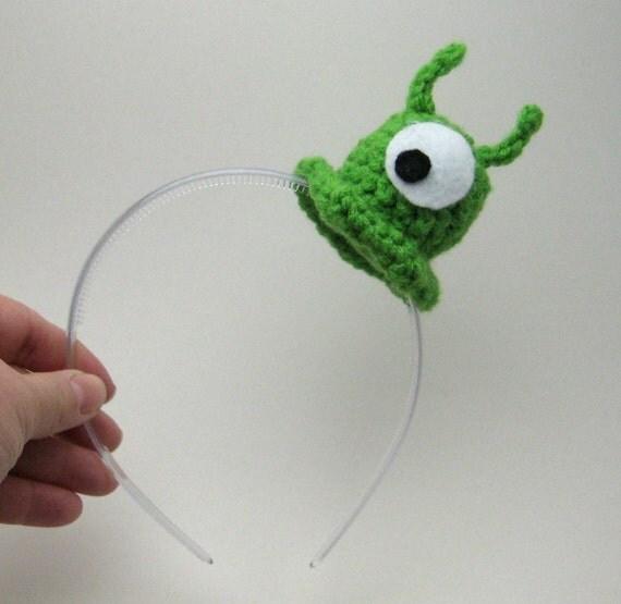 Small Brain Slug Headband