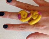 PDF Instruction - How to make a Felt Ring / Wine Charm