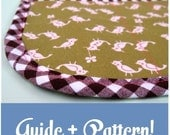 Learn to Use Bias Tape- Plus Your Choice of Bias Tape Sewing Pattern