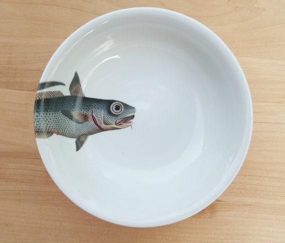 """fishy fish Cereal Bowl- """"barbichette"""""""