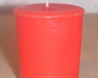 Wild Cherry Scented Votive Candle