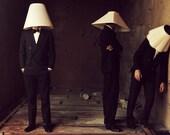11.7 x 16.5 Lampshade Men Photograph