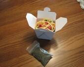 Shrimp Lo-Mein - 3 Shrimp Cat Toys and a bag of organic catnip - SLM