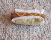 Hot dog - Hot Dog Cat Toy Filled with Organic Catnip - H1