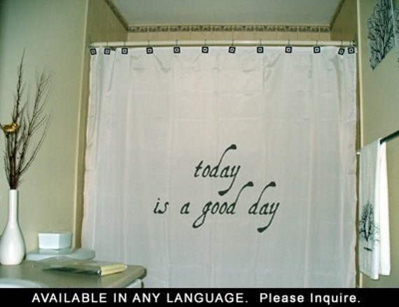 Inspirational Shower Curtain Inspiring By CustomShowerCurtains