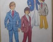Vintage 1973 Simplicity Boys' Suit Pattern - Size 5