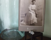 Pair of Vintage Wedding Portrait Photographs