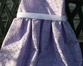 Lavender Flower Girl Dress Includes Little Matching Purse 3 months to 2T
