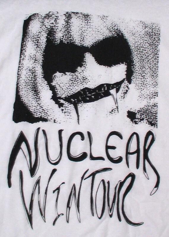 Anna Wintour Nuclear Wintour t-shirt designer Isabella Blow Vogue medium men XL L  women punk art avant garde stylist