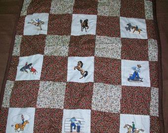 Kids horse Quilt