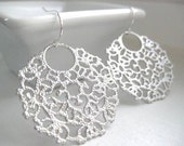 NEW - Tacy Earrings, Ornate Filigree Earrings with Sterling Silver