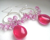 Berry Delight - Gemstone Earrings
